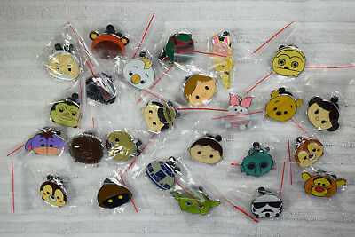 Disney trading pin lot 25 TSUM TSUM ONLY