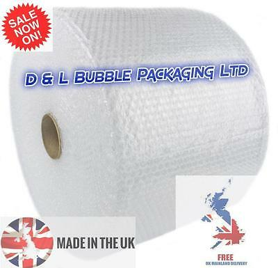 500mm x 100m x 2 Rolls Small Bubble Wrap
