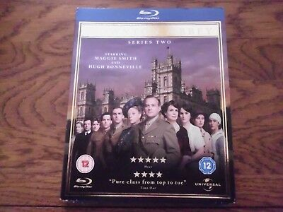 Downton Abbey: Season 2 (Blu-ray Disc, 2012, 3-Disc Set) SEALED with Slipcover