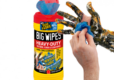 Big Wipes Heavy Duty Multi Purpose Cleaning Wipes PK40 Hands Tools Surfaces