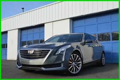 2017 Cadillac CT6 3.0L Twin Turbo Luxury Nav with Traffic Updates Heated Cooled Leather BOSE Safety Options Dream Car