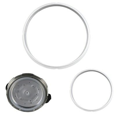 Durable Sealing Ring Pressure Cooker Silicone Gasket Cooking Utensils Parts 2PCS