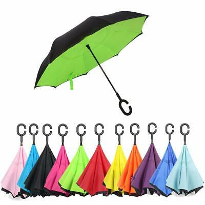 Travel Umbrella Windproof 53-inch Vented Double Canopy Automatic Open
