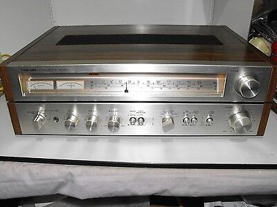 "Vintage Toshiba Receiver-Amp Model SA-320L Hard To Find Great Condition In ""GWO"""