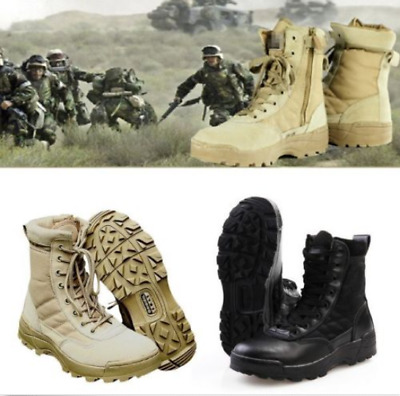 Mens Deployment Army Forced Entry Tactical Boot Military Duty Work Boots Shoes