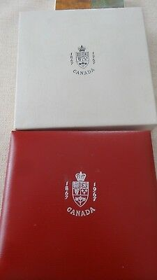 1967 Canadian 7 Silver Coin Set, Look At The Toning!