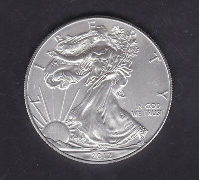 SB32) US 2012 Walking Liberty Silver Dollar