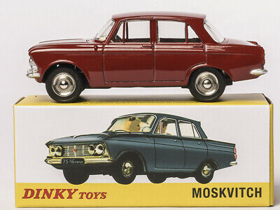 Dinky Toys Atlas 1410 1/43 MOSKVITCH 408 Alloy Diecast Car Model Collection