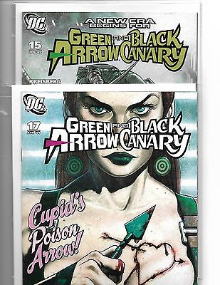 Green Arrow & Black Canary #15 & 17 Ladronn Covers -- First Appearance Of Cupid