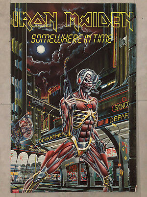 (NEW) Iron Maiden - Somewhere In Time (2008) Poster