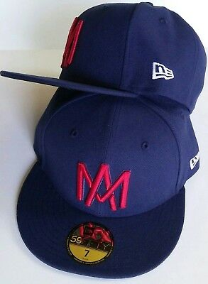 brand new 8dd04 ee282 Aguilas De Mexicali Mexico Baseball New Era 59 Fifty Fitted Dark Navy, Hat  Cap
