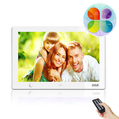 10 inch Digital Picture Photo Frame w/Motion Sensor Music Video Photo HD Remote