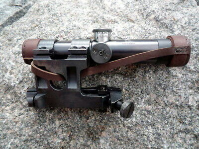 Soviet Russian Mosin-Nagant ☭ 91/30 Pu Sniper Scope With Mount ☭ Complete Set