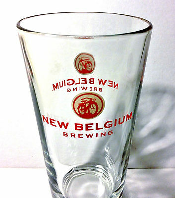 New Belgium Brewing Company 16 oz Pint Glass Beer Ale Fat Tire Ranger Citradelic