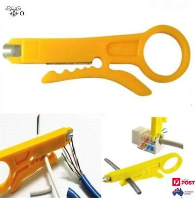 1 X Punch Down Network UTP Cable Cutter Stripper Mini Plier