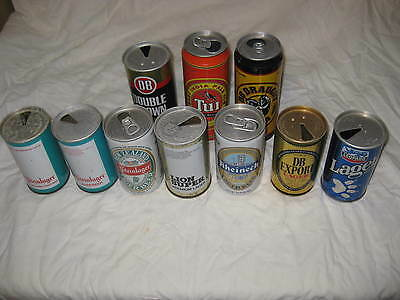 New Zealand beer cans