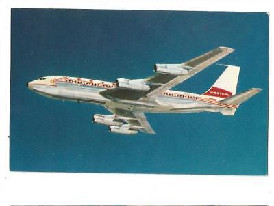 Cp Avion Avion Boeing 720 Western Airlines Fanjet  Issue