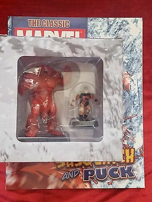 SASQUATCH & PUCK MARVEL COMIC FIGUR EAGLEMOSS COLLECTION Figurine