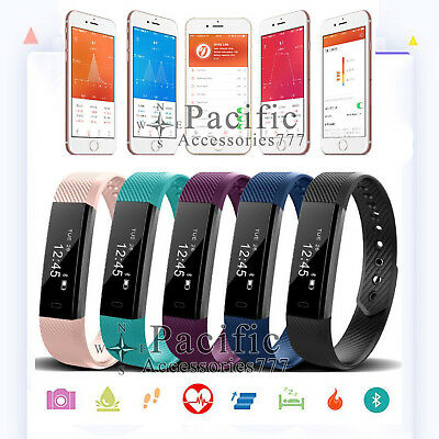 Smart Health Sports Wrist Watch Fitness Activity Tracker Band For Android Iphone