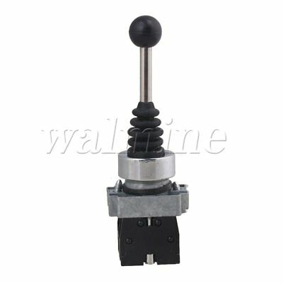 250V 22mm PA12CR Self-Locking 2Positions Joystick Cross Switch Control