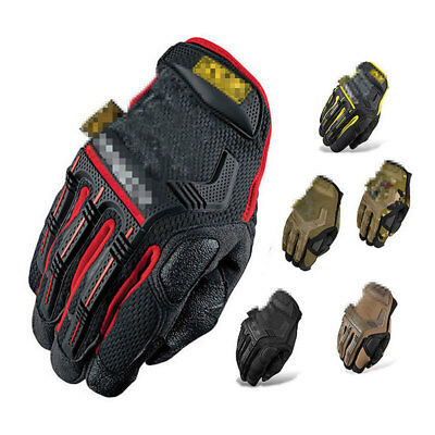 Tactical Mechanic Gloves Men Special Forces Combat Covert Police Operator Patrol