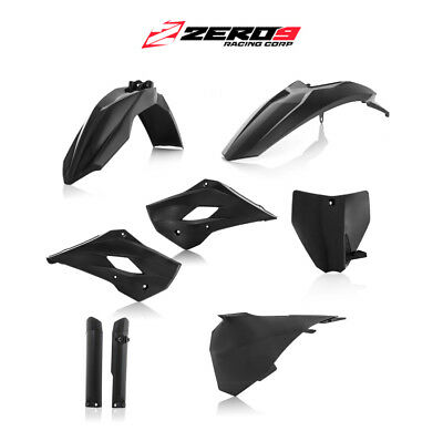 Acerbis MX Plastics Kit - Husqvarna TC 85 2015 - 2017 - BLACK