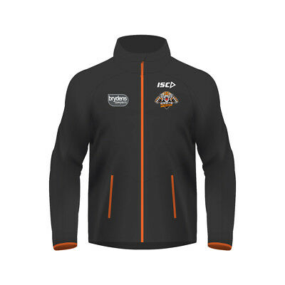 Wests Tigers 2018 NRL Kids Wet Weather Jacket BNWT Rugby League Clothes