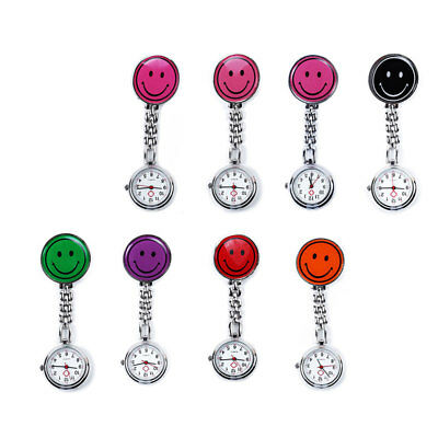 Montre Infirmiere Watch Nurse Clip Smiley Emoticône Emoji Broche De Poches