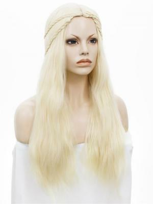 Cosplay Costume Wig for Game of Thrones Daenerys Targaryen Fancy Dress Costume