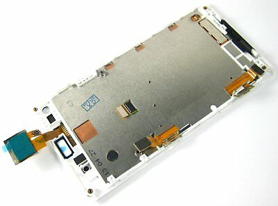 White~Full Touch Screen+LCD Display+Frame FOR Sony Xperia L C2105 C2104 LS36H