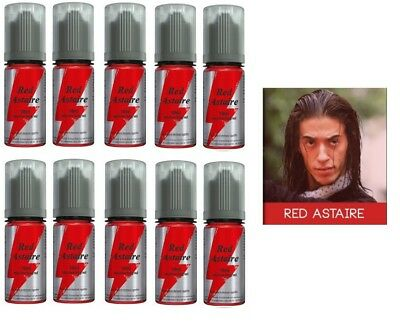 Lot de 10 flacons X 10ml red astaire