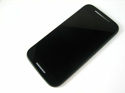 Black~Full Touch Screen+LCD Display+Frame FOR Motorola Moto E XT1021 XT1022