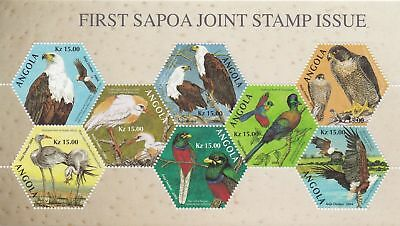 Angola 2004 First Sapoa Birds Un-Issued Minisheet Very Rare Lot 6340A