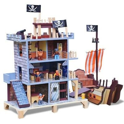 Wooden Kids Pirate's Cove Play Set