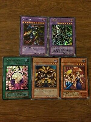 Lot Of Cool Asian Yugioh Cards Exodia Dark Paladin Five Headed Dragon And More