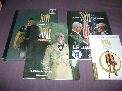 Xiii Integrale 3 / Luxe Dos Toile + Xiii Mystery Colonel Amos Eo 2011 Ttbe +2 Bd