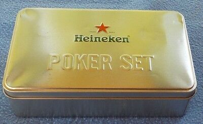 New HEINEKEN advertising items Poker set & Cards & Coasters & Golf Ball