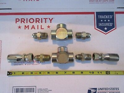 Natural gas - propane fittings, Tees, flares, flexible hose fittings
