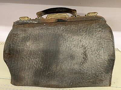 Vintage Leather Hide Doctor's Bag