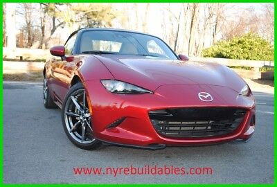 2016 Mazda MX-5 Miata Grand Touring 2016 Mazda MX-5 Miata runs and drives NON-REPAIRABLE EXPORT OR PARTS ONLY!