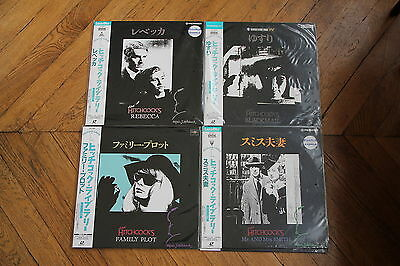 Mr and Mrs Smith 1941 Laserdisc LD Japan Ntsc Alfred Hitchcock, Carole Lombard
