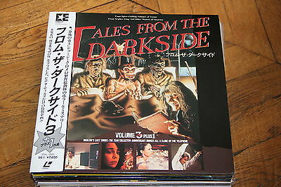Tales from the Darkside vol.3 LASERDISC LD NTSC CLV EHL-1068 George A. Romero