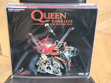 Queen Rare Live Concert Through Time and Space Laserdisc LD JAPAN