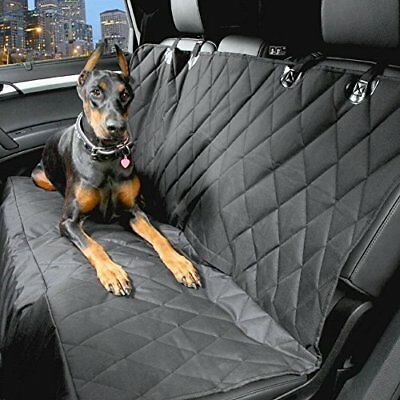 Heavy Duty Quilted Pet Dog Rear Seat Cover For FIAT 500 2008 ON