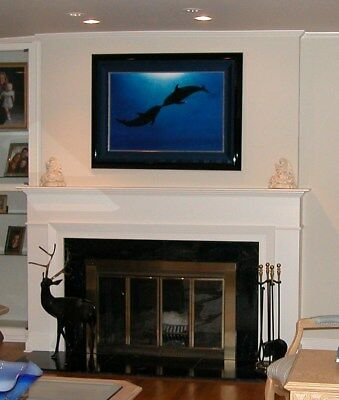 """Wyland original oil, open ocean titled: """"Coming Together in the Sea of Life"""""""
