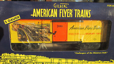 American Flyer Catalog Art Boxcar ....mint In Box!