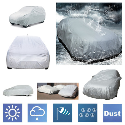 Breathable Full Car Cover UV Sun Protector  For Mercedes Benz C63 Saloon 2015 On