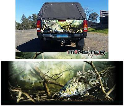 Australian Bass - Tailgate Wrap Decal
