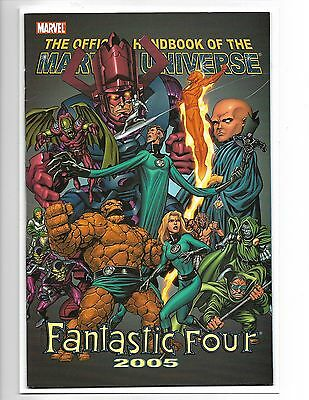 Official Handbook Of The Marvel Universe: Fantastic Four 2005
