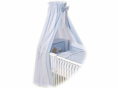 Bett-Set BEAR BLUE Baumwolle blau EASY BABY 400-37